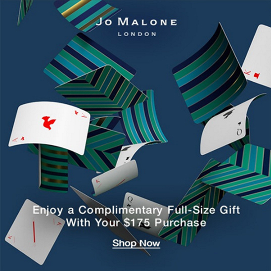Jo Malone Canada Play A Magical Match Memory Game Receive Free Full-size Gift Purchase 2019 Canadian Holiday Deals - Glossense