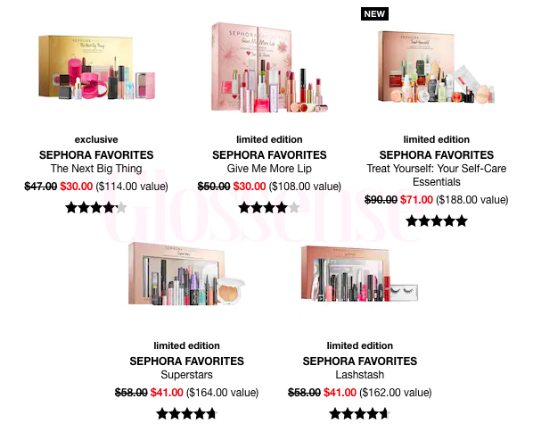 Sephora Canada Hot Fall Winter Holiday 2019 Canadian Sale Save on Sephora Favorites Favourites Sets Kits Collections November 2019 Sale Canadian Deals - Glossense.jpg