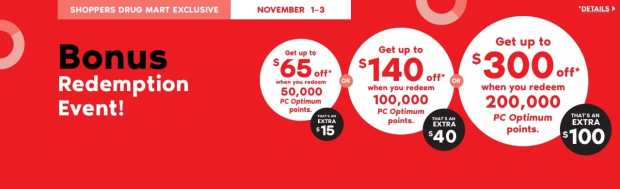 Shoppers Drug Mart Beauty Boutique SDM Canada Super Spend Your Canadian PC Optimum Points Redemption Event November 1 3 2019 - Glossense
