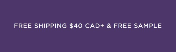 Tarte Cosmetics Canada Now Offering Free Samples 40 Minimum Shipping to Canadians - Glossense
