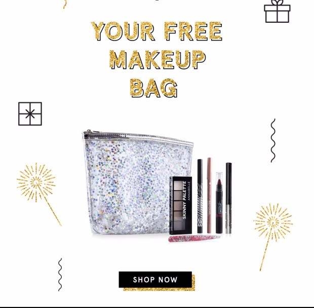 Annabelle Cosmetics Canada 2019 Boxing Day Sale 20 Off Free Christmas Makeup Bag Free Shipping Purchase Canadian Deals 2 - Glossense