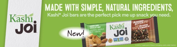 Canadian Freebies Free Kashi Joi Energy Bar Canada - Glossense