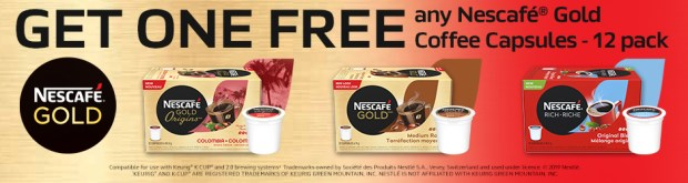 Canadian Freebies Free Nescafe Gold Coffee Capsules Canada - Glossense