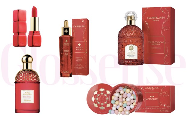 Guerlain Canada 2020 Chinese Lunar New Year Canadian New Releases Meteorites KissKiss Lipstick Abeille Royale Perfumes - Glossense