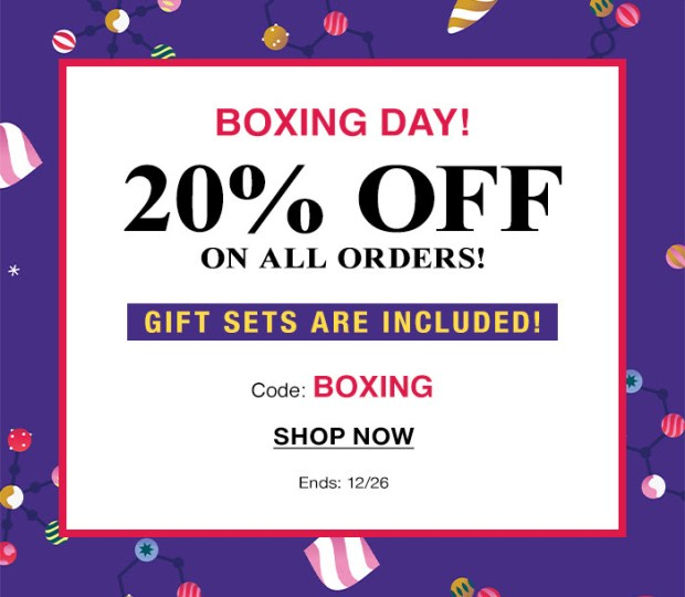 Kiehl's Since 1851 Canada 2019 Boxing Day Sale 20 Off Total Purchase Canadian Deals Promo Code - Glossense