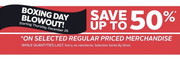 Rexall Canada 2019 Boxing Day Sale Deals and Boxing Week Flyer Savings Canadian Beauty Deals - Glossense