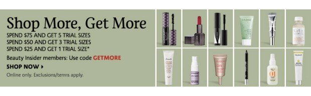 Sephora Canada Promo Code Pick From 12 Free Minis Add 1-5 Deluxe Travel Samples to your Order Canadian GWP Beauty Offer December 2019 - Glossense