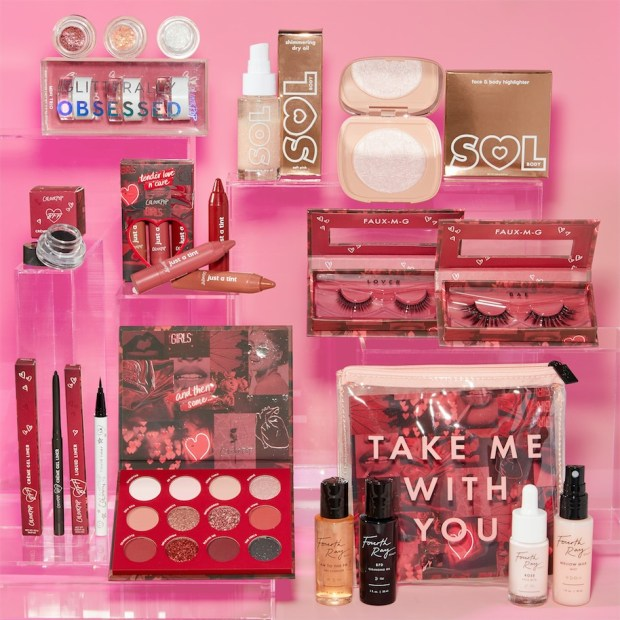 ColourPop Cosmetics Sol Body Fourth Ray Beauty Canada 2020 Valentine's Day Collection Canadian New Launch Pricing Preview - Glossense