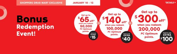 Shoppers Drug Mart Beauty Boutique SDM Canada Super Spend Your Canadian PC Optimum Points Redemption Event January 10 12 2020 - Glossense