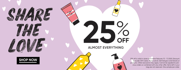 Chatters Hair Beauty Salon Salons Canada 2020 Valentine's Day Week Sale 25 Off Everything Canadian Beauty Deals - Glossense