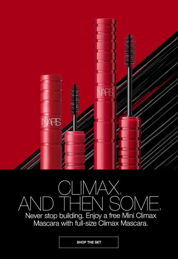 Nars Cosmetics Canada Free Mini Studio 54 Mascara in Explicit Content Climax Mascara Set 2020 National Lash Day Canadian Beauty Deals - Glossense