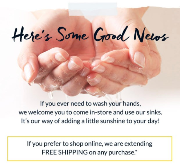 LOccitane Canada Free Shipping 10 Online Order Free In-store Hand Washing Canadian Deals March 2020 - Glossense