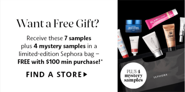 Sephora Canada VIB Rouge Exclusive Spring Shopping Event Free Deluxe Sample Gift Bag Purchase Brand Events Pampering Services March 6 7 2020 Canadian Beauty Insider GWP Deals Events 2 - Glossense