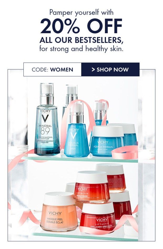 Vichy Canada 2020 International Womens Day Sale Canadian Deals Promo Code - Glossense