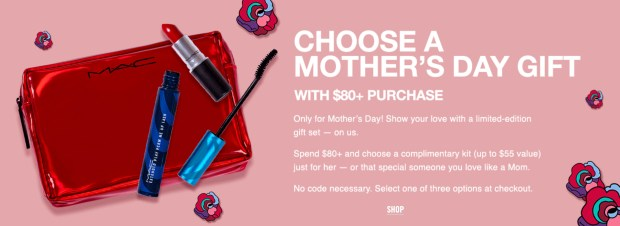 MAC Cosmetics Canada Choose a Free Mother's Day 3-pc Gift Set with Purchase Free Shipping 2020 Canadian Deals GWP Offer - Glossense