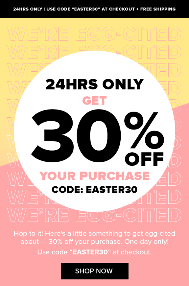 Nudestix Canada Easter Sale 30 Off Free Shipping 2020 Canadian Deals Promo Code - Glossense