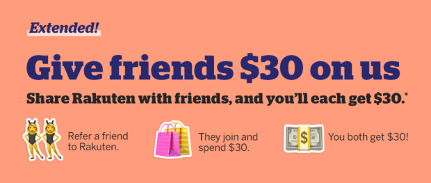 Glossense Referral Perk Shop and Get 30 USD Free with Rakuten Extended - Glossense