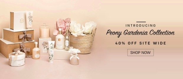 Laline Canada Save 40 Off Sitewide New Peony Gardenia Collection 2020 Canadian Deals - Glossense