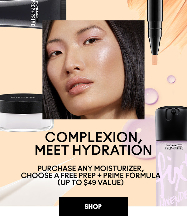 Mac Cosmetics Canada Buy a Moisturizer Choose a Free Prep Prime Product Free Shipping 2020 Canadian Deals GWP Offer - Glossense