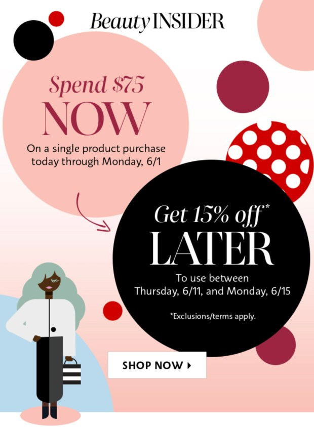 Sephora Canada Shop Now Save 15 Off Later 2020 Canadian Beauty Insider Deals - Glossense