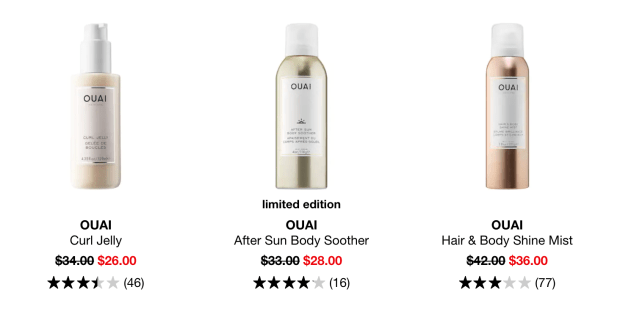 Sephora Canada Summer Sale Ouai Hair Body After Sun Products 2020 Canadian Deals - Glossense