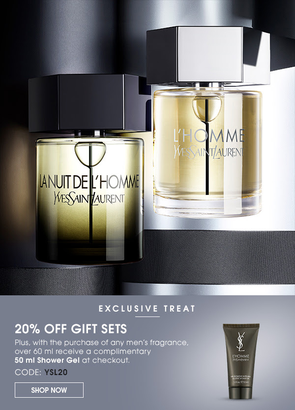 Yves Saint Laurent Canada Gift Sets Free Shower Gel Men's Fragrance Purchase Father's Day 2020 Canadian Deals Promo Code - Glossense