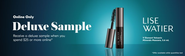 Beauty by Shoppers Drug Mart Canada Free Lise Watier V Element Volcanic Minerals Mascara Deluxe Mini Sample - Glossense