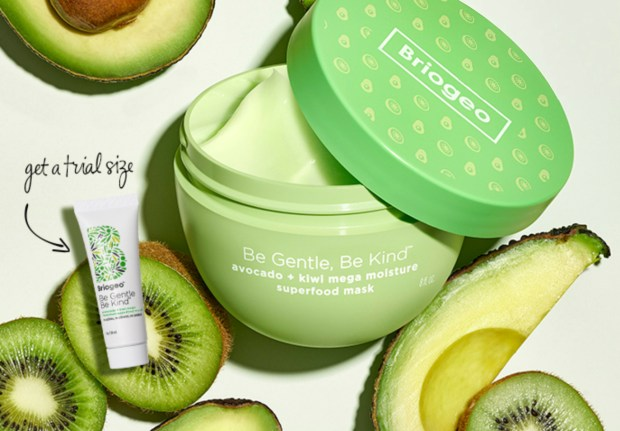 Sephora Canada Promo Code Free Briogeo Be Gentle Be Kind Avocado Kiwi Mega Moisture Superfood Hair Mask Deluxe Mini Sample - Glossense