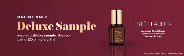 Shoppers Drug Mart Canada Free Estee Lauder Advanced Night Repair Synchronized Recovery Complex Deluxe Mini Sample June 2020 - Glossense