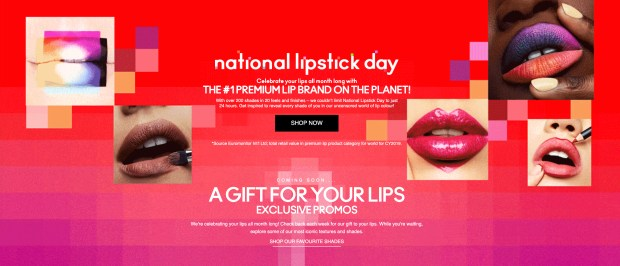 MAC Cosmetics Canada Full Month of National Lipstick Day Exclusive Promos A Gift for Your Lips July 2020 Canadian Deals - Glossense
