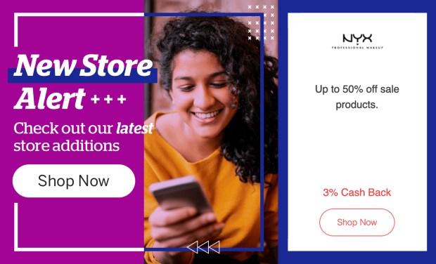 Rakuten Canada Shop Nyx Cosmetics Get Free Canadian Cash Back NEW Store Alert - Glossense
