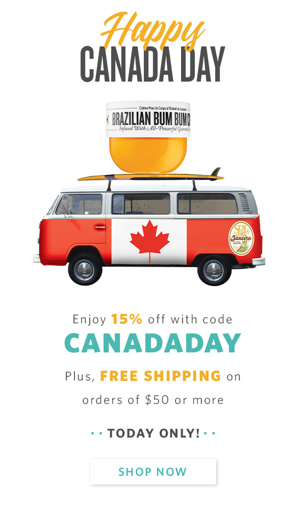 Sol de Janeiro Canada Day Sale Save 15 Off Free Shipping 2020 Canadian Deals Promo Code - Glossense