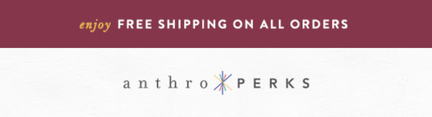 Anthropologie Canada Free Canadian Shipping Any Order August 2020 Canadian Deals - Glossense