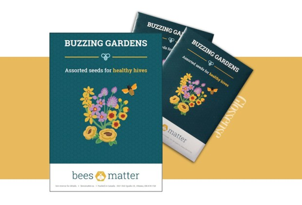 Bees Matter Canada Free Buzzing Gardens Seed Kit Free Flower Seeds Packet Canadian Freebies - Glossense