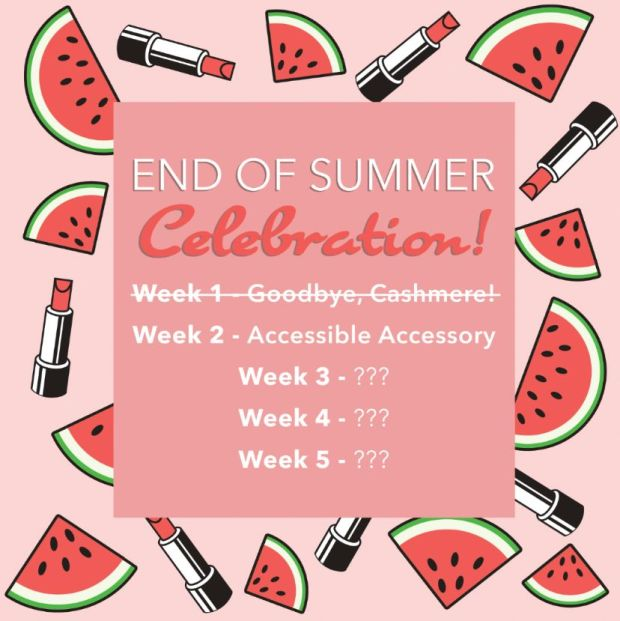Besame Cosmetics Canada End of Summer Celebration Week 2 Free Lipstick Sleeve Canadian Deals GWP Offer - Glossense