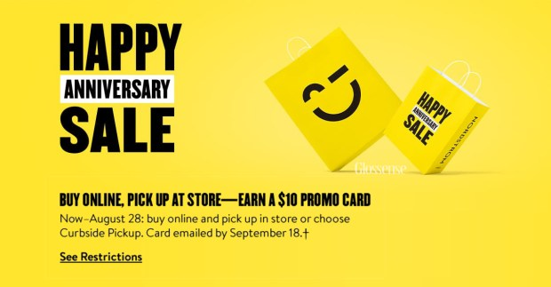 Pick-up Curbside or In-store Get Free Promo Savings Card Canadian Deals - Glossense