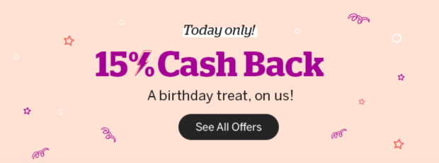 Rakuten Canada Birthday Flash Sale Shop Get 15 Canadian Cash Back Today August 28 2020 ONLY - Glossense