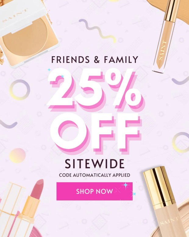 Saint Cosmetics Canada Friends Family Event Save 25 Off Sitewide 2020 Canadian Deals Sale - Glossense