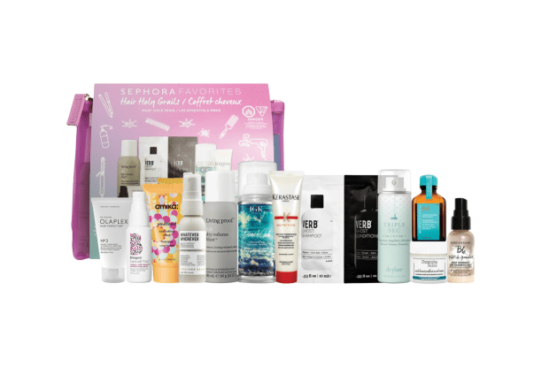 Sephora Canada Favorites Kit Hair Holy Grails Set Must Have Haircare Collection for Fall 2020 Canadian Deals - Glossense