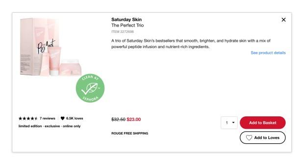 Sephora Canada Hot Sale 30 Off Saturday Skin The Perfect Trio 2020 Canadian Deals - Glossense