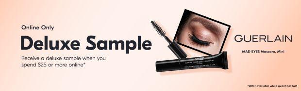 Beauty by Shoppers Drug Mart Canada Free Guerlain Mad Eyes Mascara Mini Deluxe Sample Purchase - Glossense