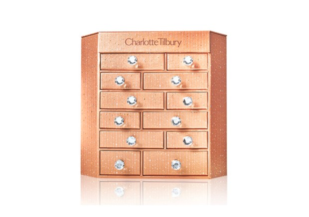 Charlotte Tilbury Canada Sneak Peek Charlotte's Bejewelled Chest of Beauty Treasures 2020 Canadian Holiday Christmas Advent Calendar - Glossense