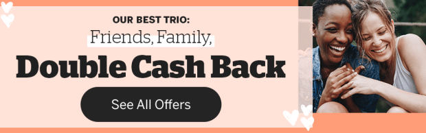 Rakuten Canada Friends and Family Week Shop Get Double 2x Canadian Cash Back - Glossense