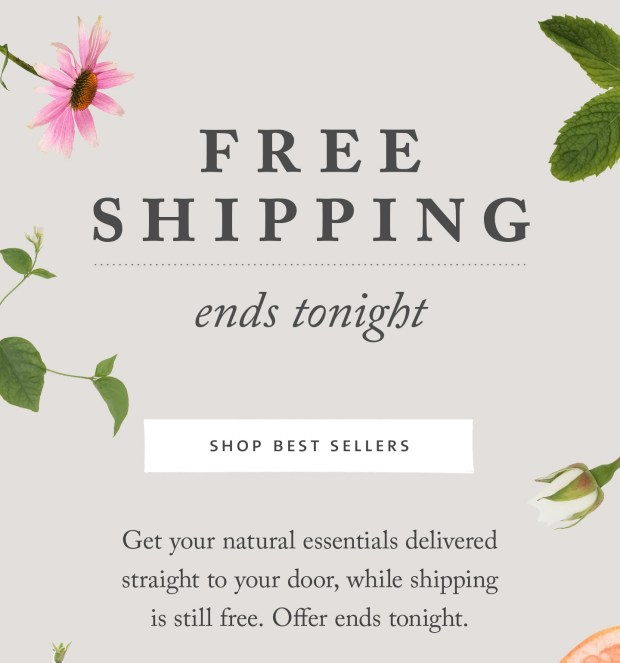 Saje Natural Wellness Canada Free Shipping for Labour Day Any Order 2020 Canadian Deals - Glossense
