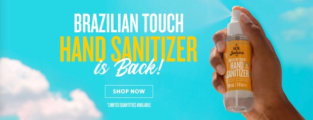 Sol de Janeiro Canada Brazilian Touch Hand Sanitizer Spray is Back - Glossense