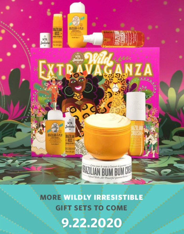 Sol de Janeiro Canada New Wildly Irresistible Holiday Gift Sets Launching September 22, 2020 + Spoiler Canadian New Releases - Glossense
