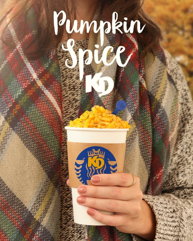 Canadian Freebies Free Pumpkin Spice KD Kraft Dinner Launches October 23 2020 Canada Giveaway - Glossense