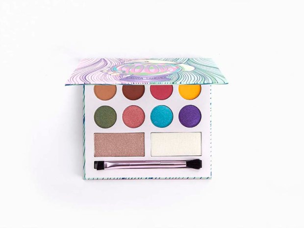 Ipsy Canada Free Laura Sanchez Makeup Labs Moods Eyeshadow Highlighter Palette Canadian October 2020 Rewards - Glossense