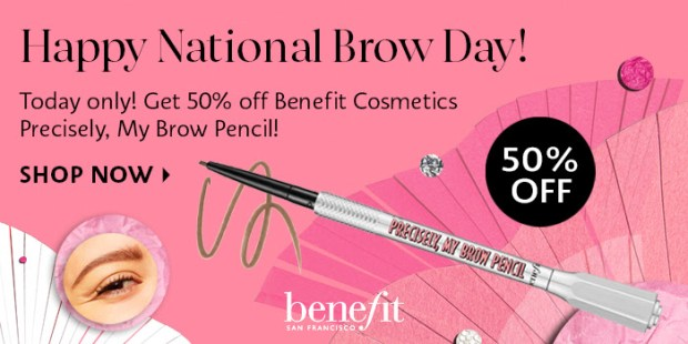 Sephora Canada 50 Off Benefit Cosmetics Precisely My Brow Pencil 2020 National Brow Day Canadian Deal Sale - Glossense