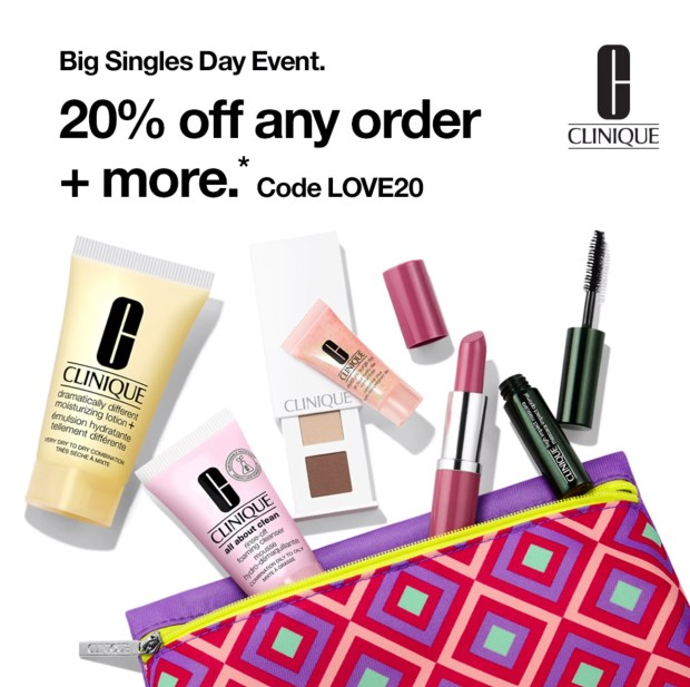 Clinique Canada Big Singles Day Event 2020 Canadian Deals Sale Gift Promo Code - Glossense